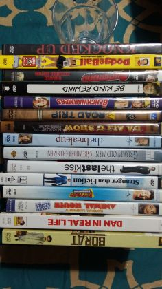 Lot of 15 comedy DVDs in English - image 1