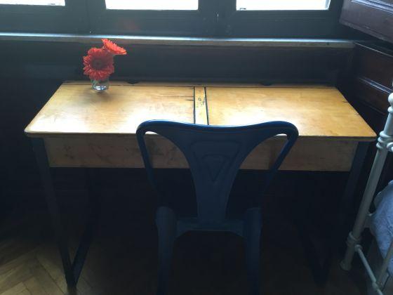 Vintage School Desk - image 1
