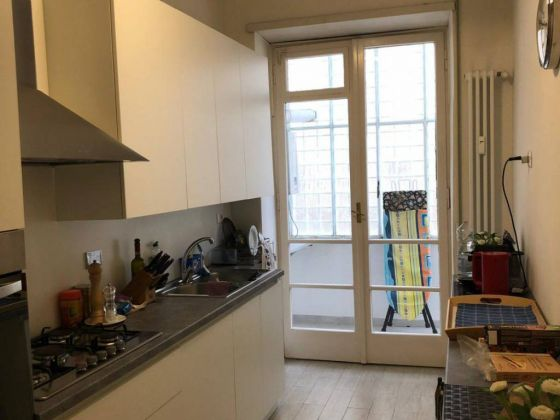 Parioli - very bright remodeled flat (200m2) with terrace & garage - image 9