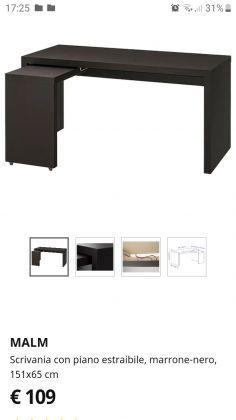 IKEA desk MALM - image 3
