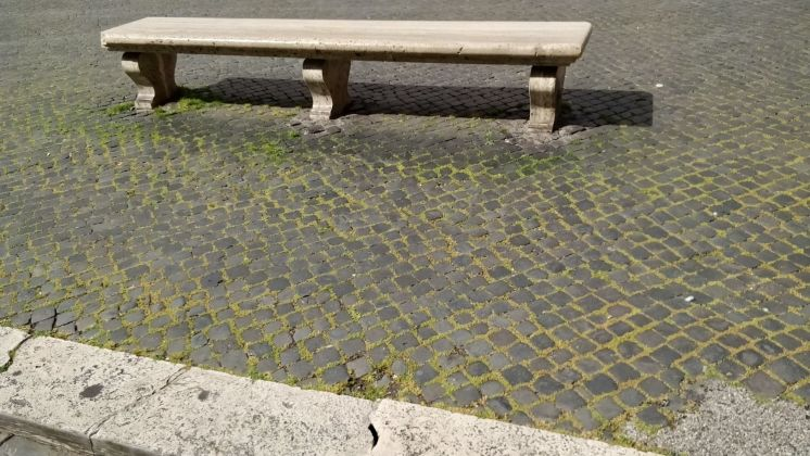 Rome: Grass grows in deserted Piazza Navona - image 8