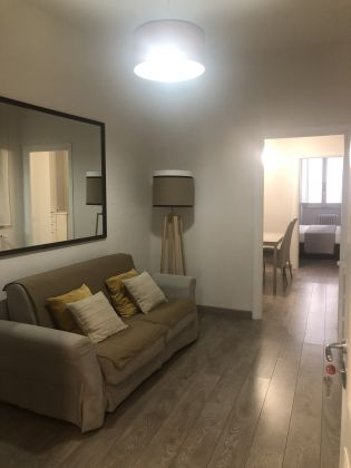 Bright remodeled, 1-bedroom fully furnished flat - image 1