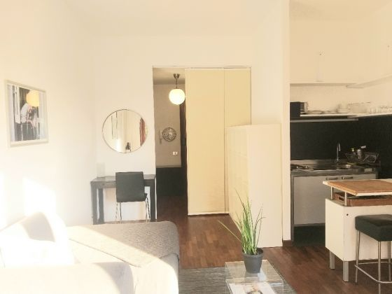 CHARMING AND URBAN FURNISHED STUDIO APARTMENT WITH TERRACE IN VILLA BONELLI - image 1