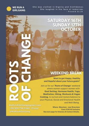 Roots of Change - Wellness Weekend for Women - image 1