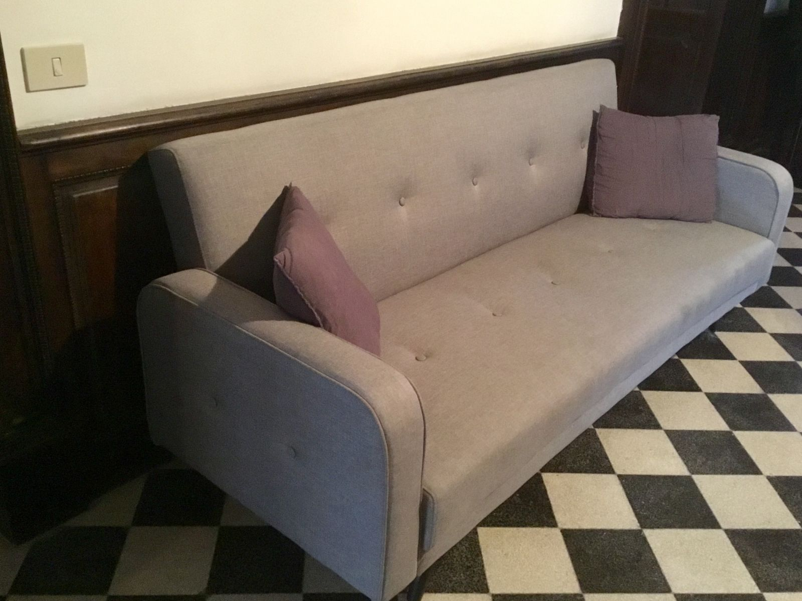 Cuscino Alla Francese Ikea grey sleeper couch for sale - wanted in rome