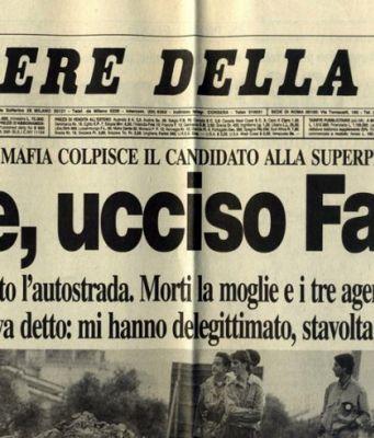 Giovanni Falcone. 18 May 1939 – 23 May 1992.