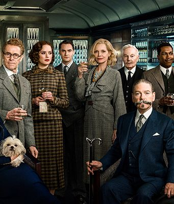 Murder on the Orient Express showing in Rome cinemas