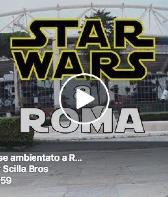 If Star Wars were filmed in Rome..