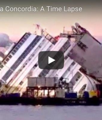 Costa Concordia Time laps