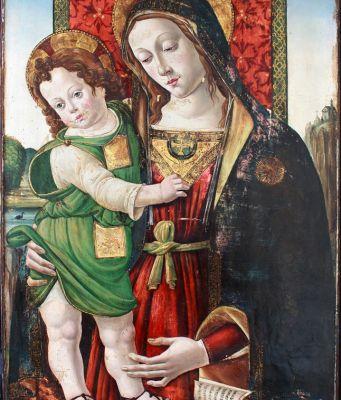 Stolen Pinturicchio painting returns to Italy