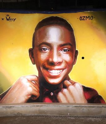 Italy: Paliano remembers Willy with street art