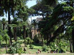 Villa Celimontana park in Rome
