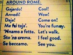 Key words for getting around Rome