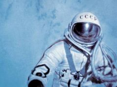 First walk in space. 18 March 1965