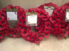 Rome War Cemetery on Anzac Day. Ph:  Victoria Wyatt