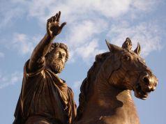 Marcus Aurelius.  26 April 121 – 17 March 180 AD.