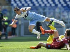 Yesterday Lazio overtook Roma in the Seria A Italian football championship