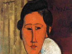 Rome painting: Hanka Zborowska by Amedeo Modigliani