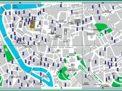 Nasoni Map in Rome