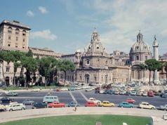 Piazza Venezia 40 years ago