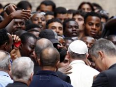 Pope Francis offers shelter to migrants
