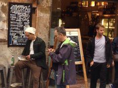 Jude Law at Bar Perù, Rome