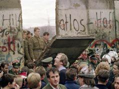 Berlin wall comes down. 9 November 1989.