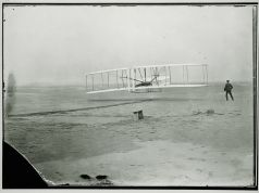 December 17, 1903. First flight ever.