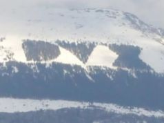 """Snow brings back """"DUX"""" on Monte Giano"""