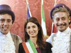 Rome mayor celebrates first same-sex civil union in city