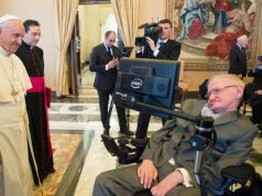 Stephen Hawking hospitalised in Rome