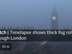 Fog in London..