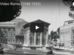Home videos in Rome (1948 - 1950)