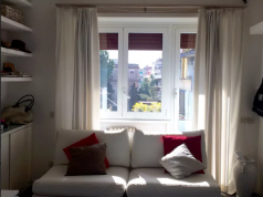Beautiful, closed- off, private room in a renovated apartment