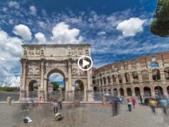 Rome Hyperlapse video
