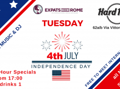 Rome Expats 4th of July Party at Hard Rock Cafe Rome