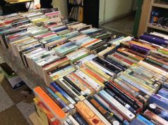 Summer book sale at S. Susanna Library