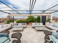 Exceptional 3 bedroom apartment with roof terrace near Piazza Venezia