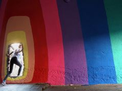 Rome street art: underground comes indoors