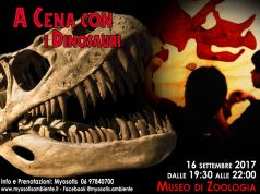 Dinner with Dinosaurs at Rome's Zoology Museum