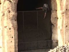 Tourist arrested for breaking into Colosseum