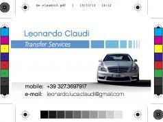 Passenger transfer services / servizi di trasporto persone