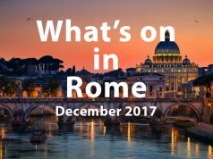December 2017 events in Rome