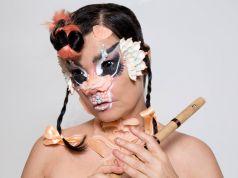 Björk concert at Rome's Baths of Caracalla