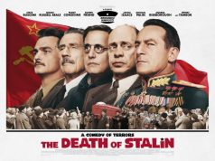The Death of Stalin showing in Rome cinemas