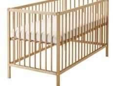 BABY CRIB IKEA Never used HALF PRICE