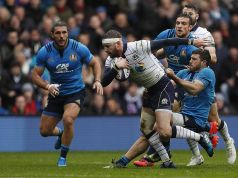 Italy hosts Scotland in Six Nations match in Rome
