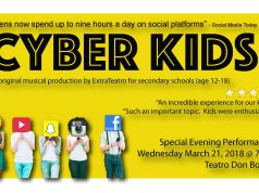 Cyber Kids - musical theatre production for kids - ages 12 +