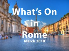 March 2018 events in Rome