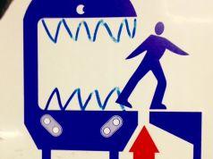 Trastevere Station: Mind The Gap